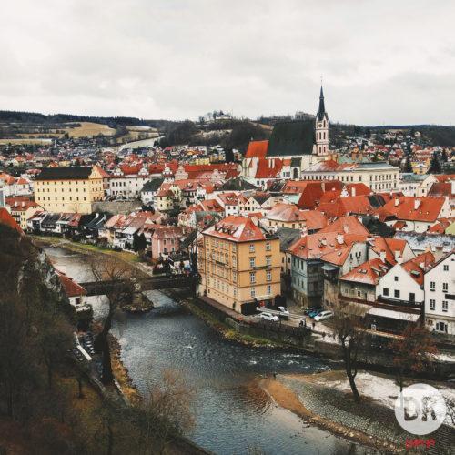 Чески-Крумлов исключительно атмосферный средневековый городок. Категорически рекомендую!