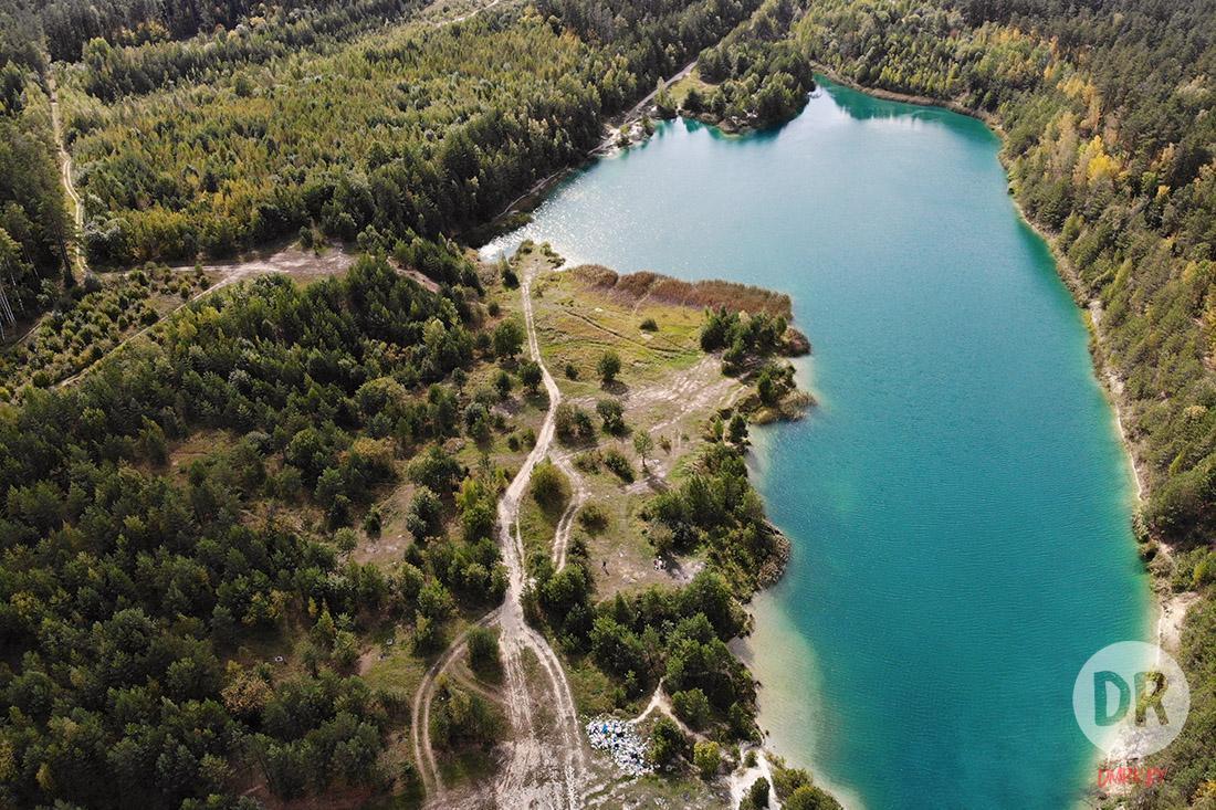 Съездил на Любанские меловые карьеры — офигел от количество мусора и красивых пейзажей