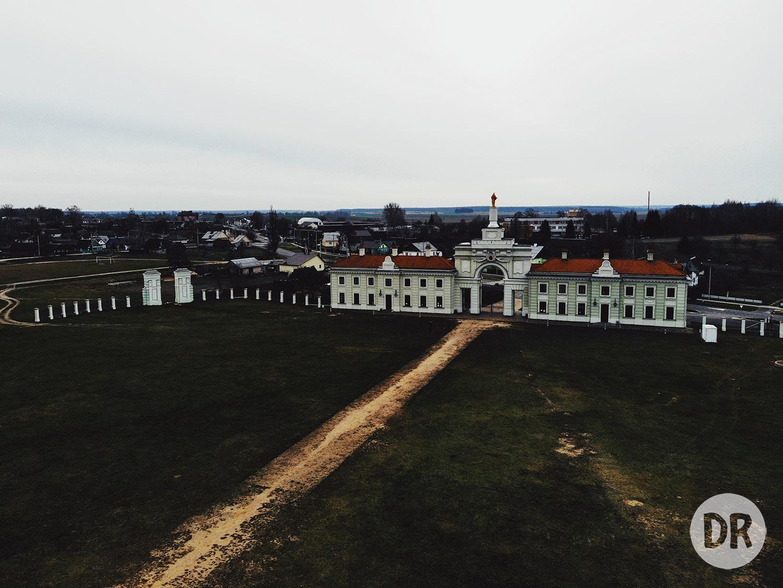 Дворец Сапегов, Ружаны. Снято @dmitry_rak