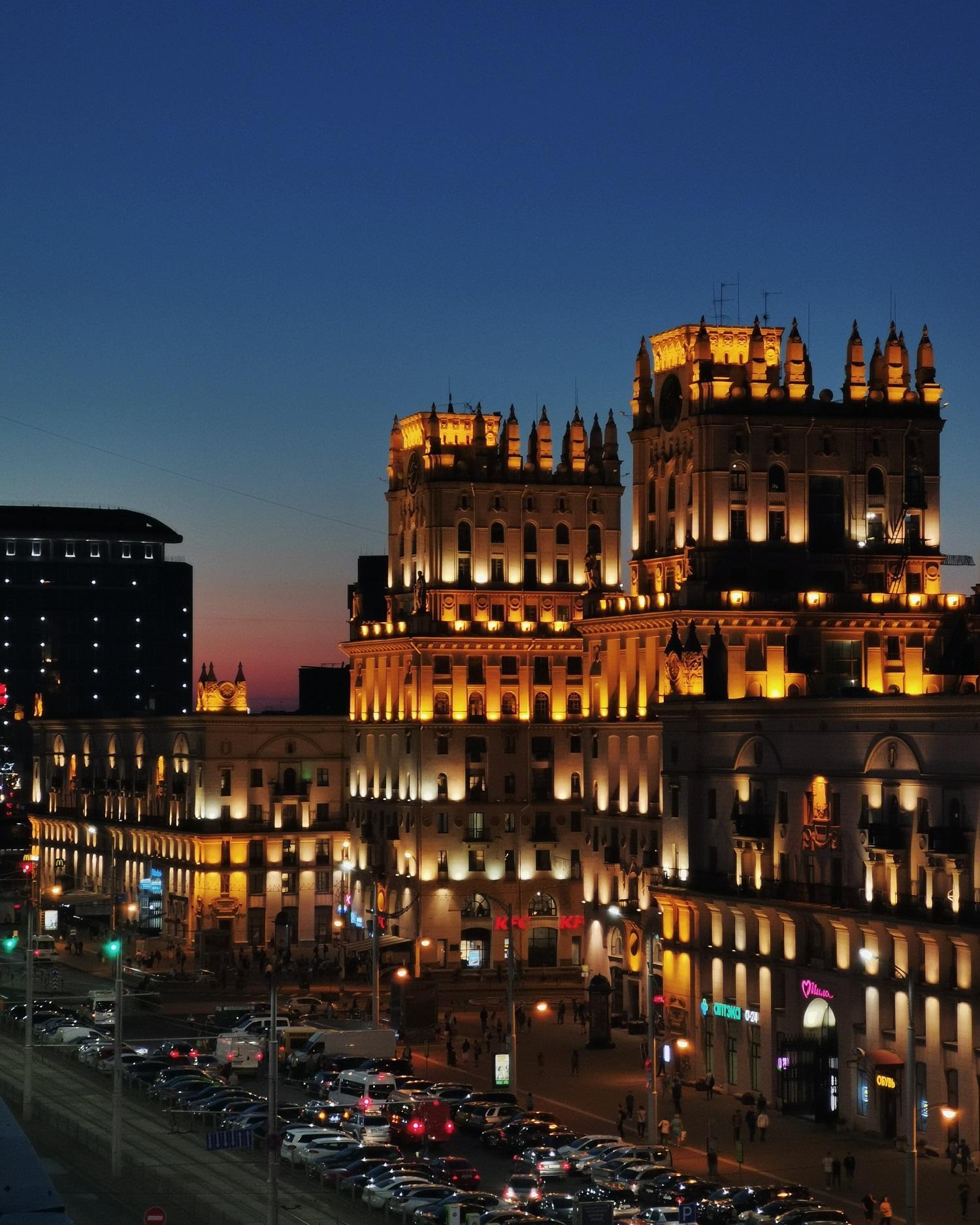 Вокзал. Самые фотогеничные локации Минска