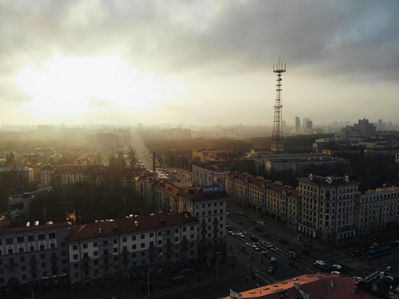 Панорама на обелиск Победы. Самые фотогеничные локации Минска