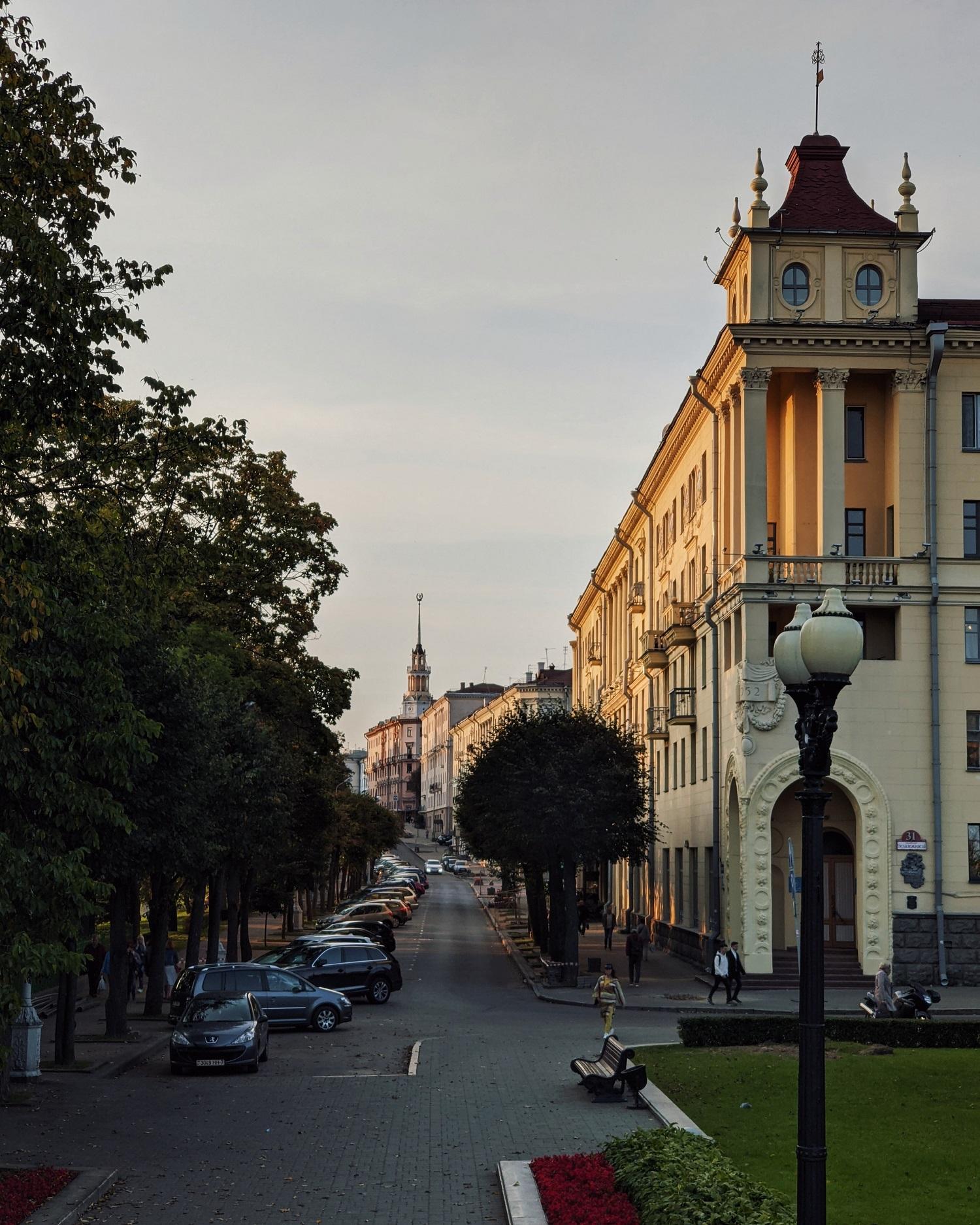 Коммунистическая улица. Самые фотогеничные локации Минска