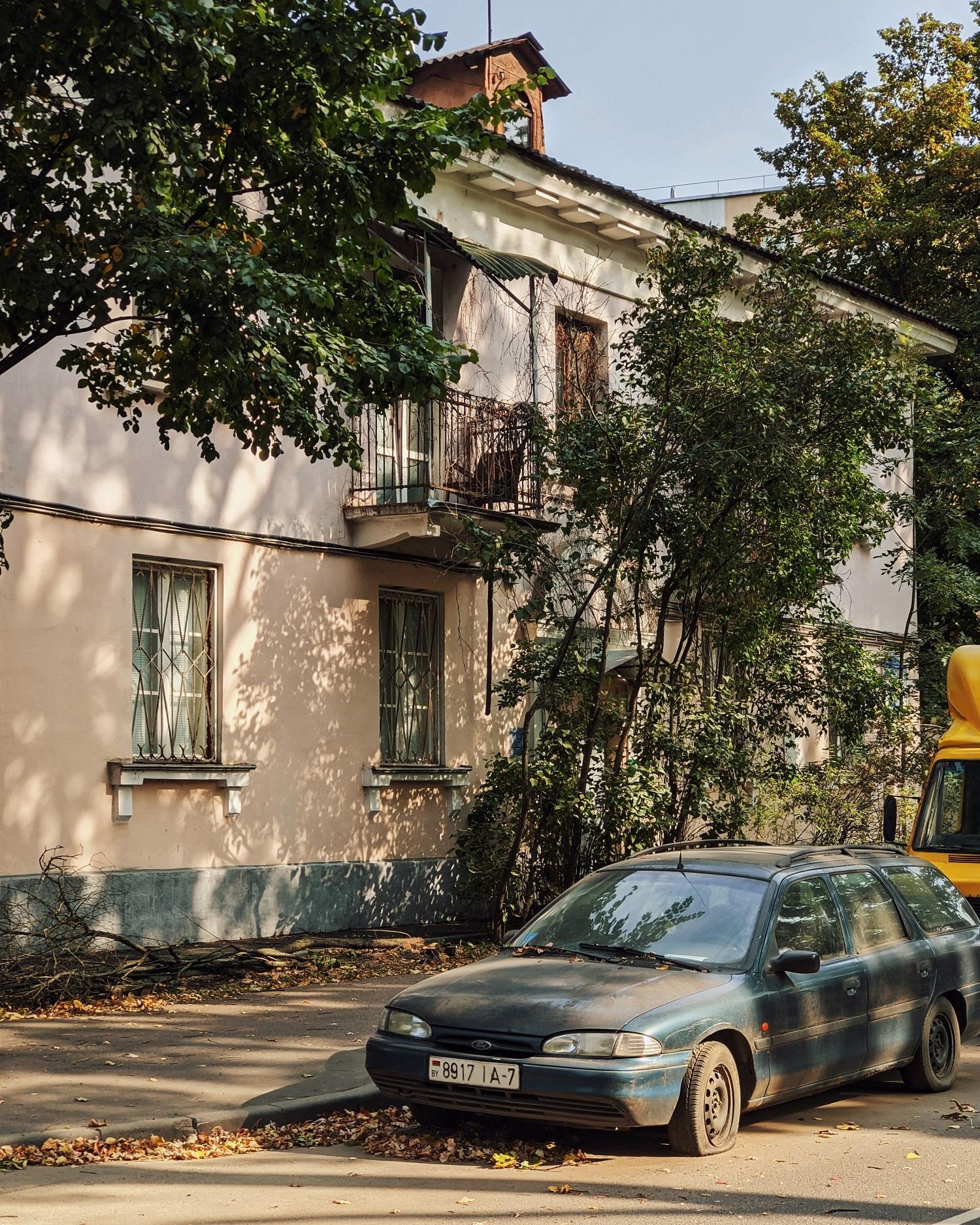 Краснозвездная улица. Самые фотогеничные локации Минска