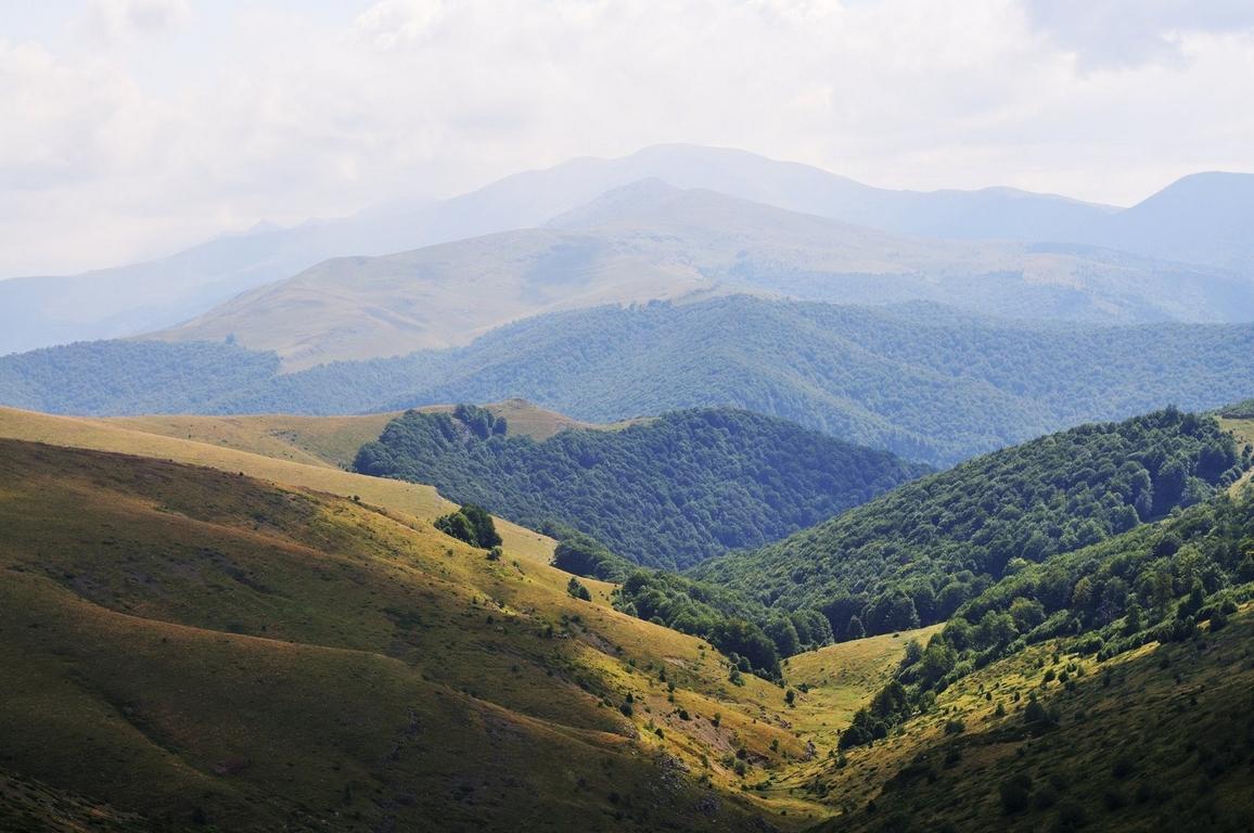 болгарская часть Карпат, а именно национальный парк Центральный Балкан