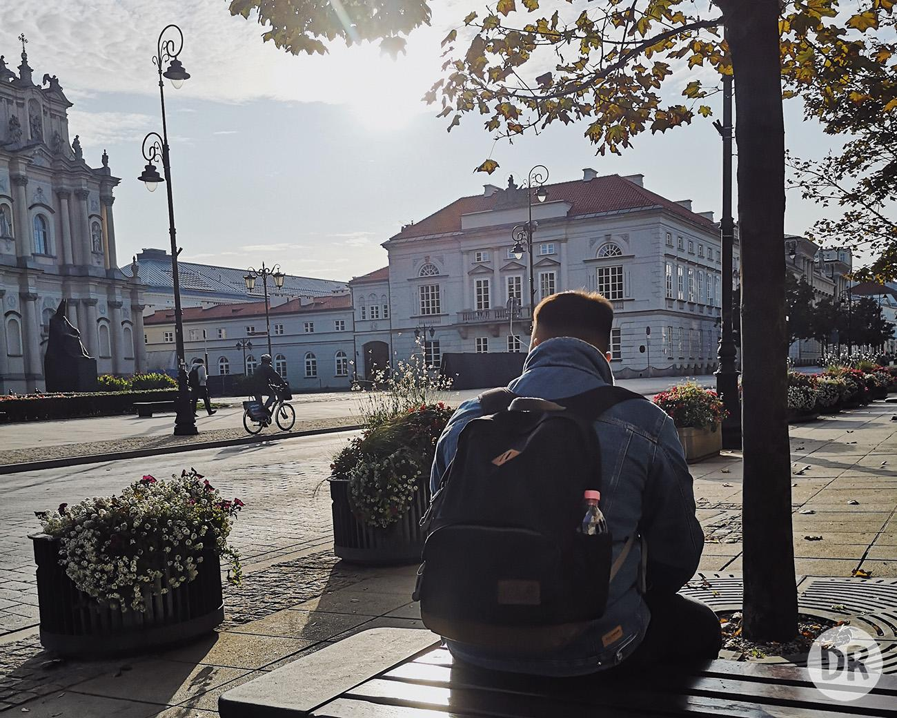рюкзак вместо чемодана в путешествиях