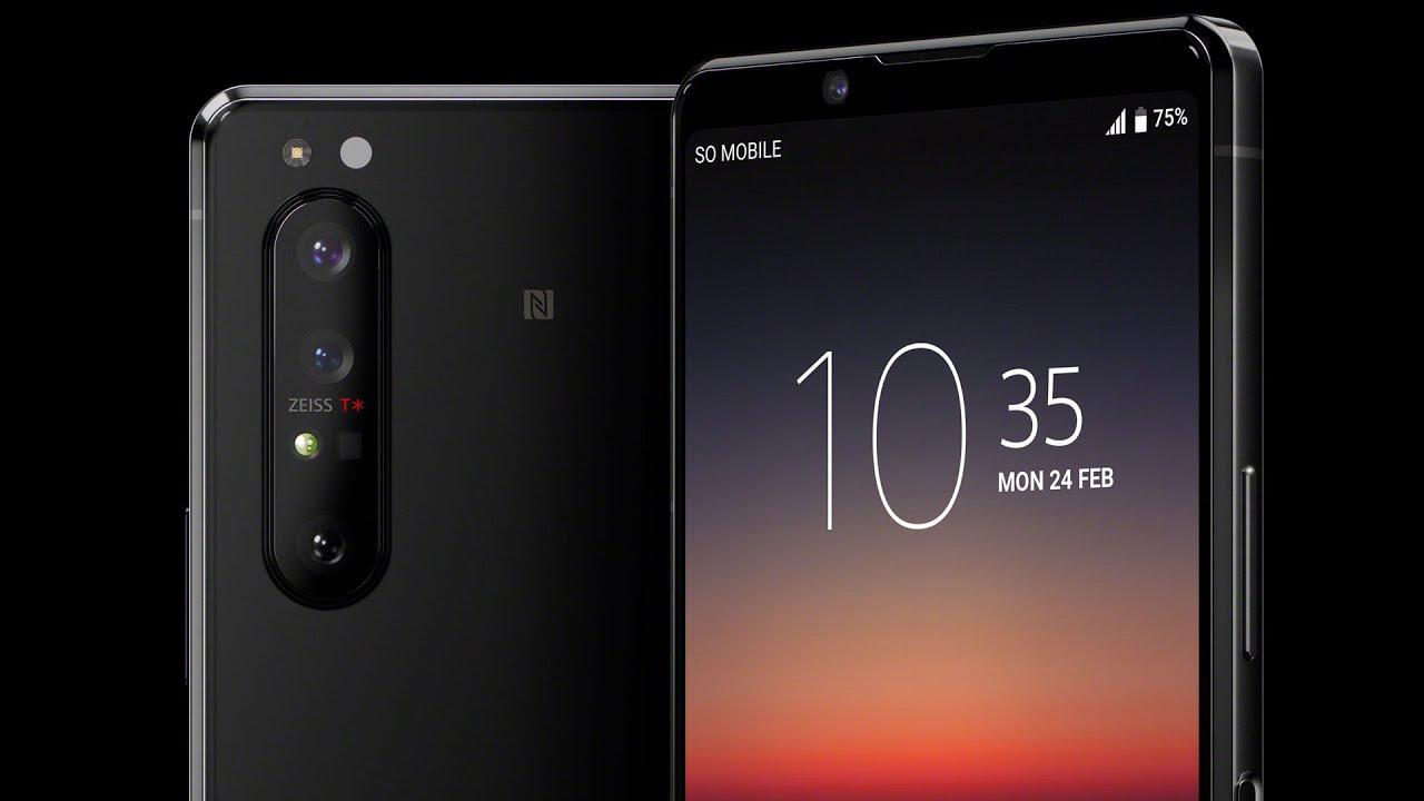 Xperia 1 II - Лучшие смартфоны для мобильного фотографа 2020