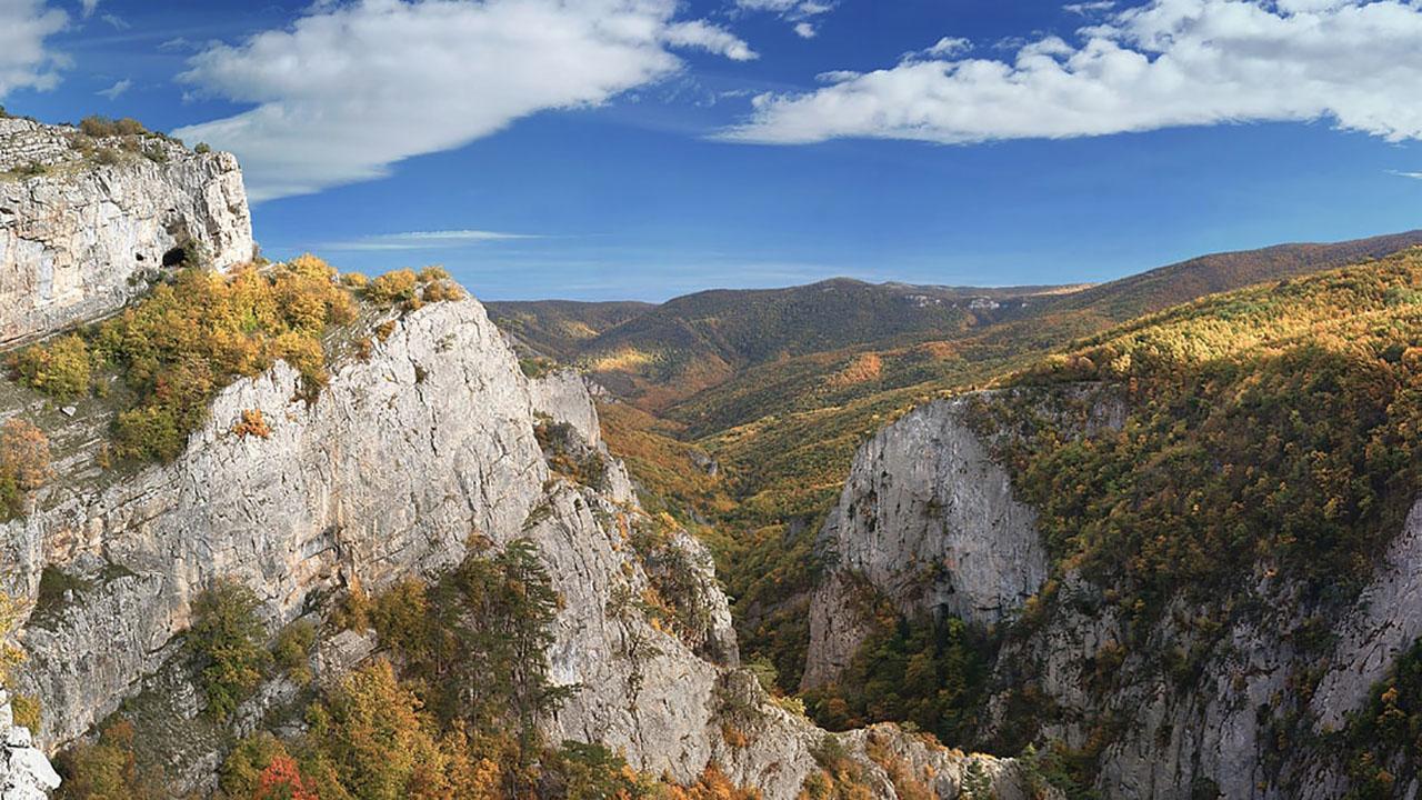 Крым в октябре-ноябре