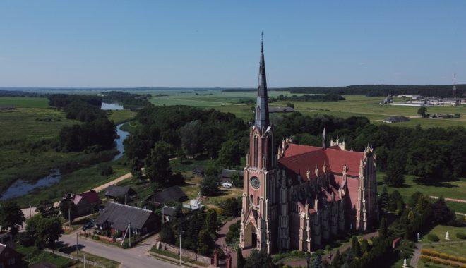 Гервяты и Церковь Святой Троицы, снято @dmitry_rak