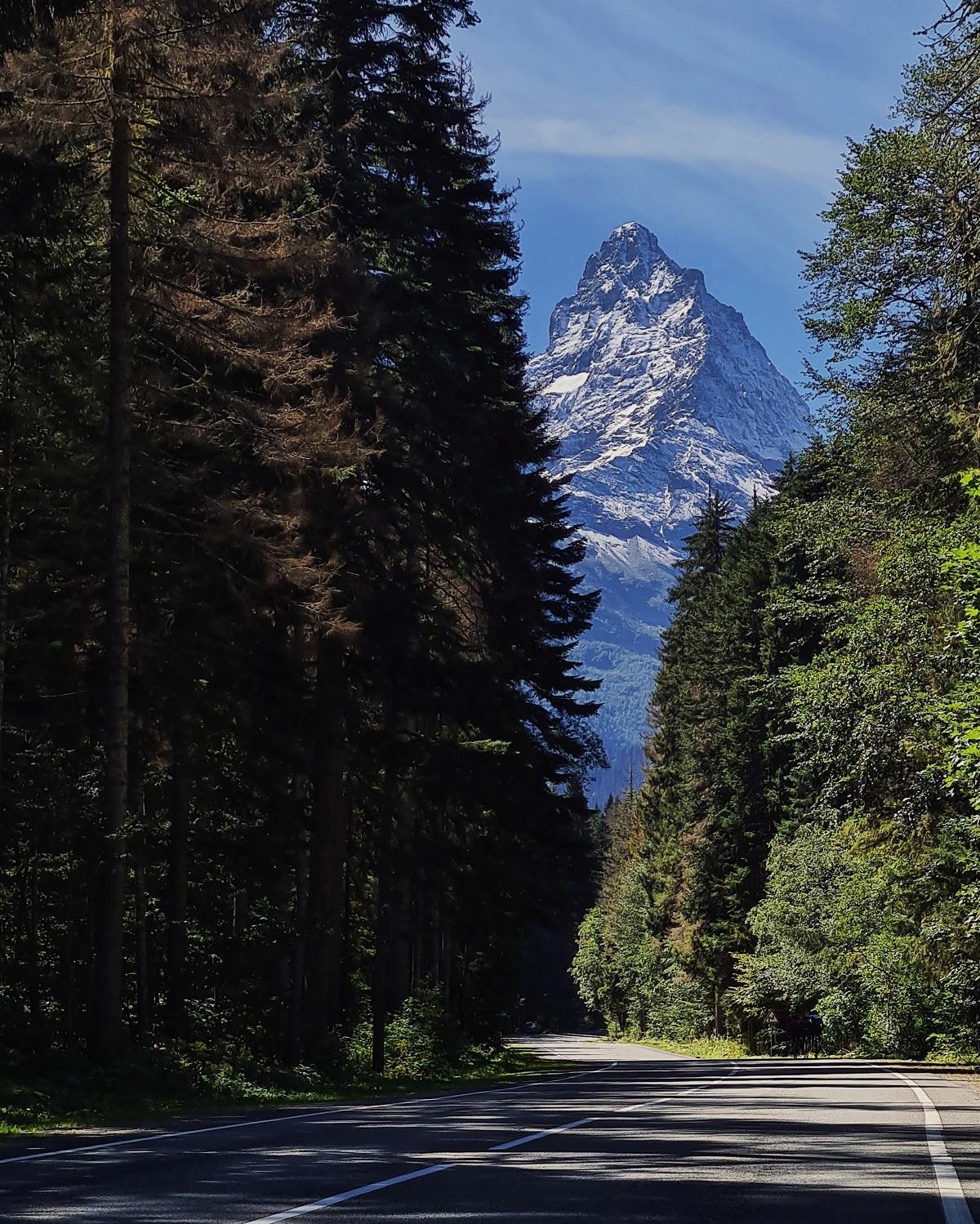 Домбай, гора Белалакая